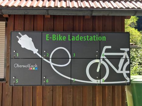 Grube Wenzel und MiMa in Oberwolfach: Gestaltung von E-Bike Ladestationen