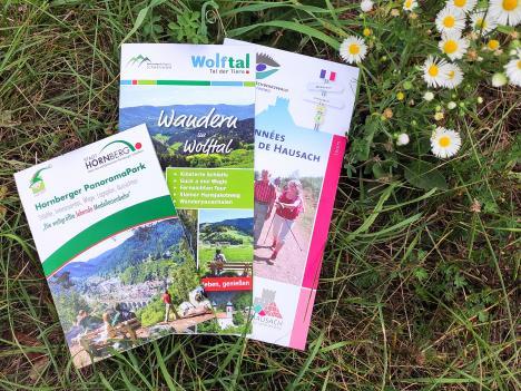 Wanderflyer Wolftal, Hornberg, Hausach