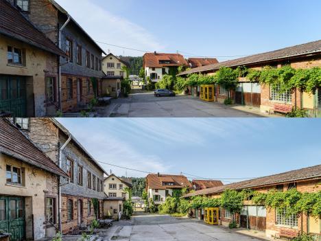 Bildwirkung im Vorher-Nachher-Vergleich