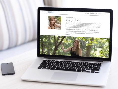 Internetseite Cindy Blum, Oberwolfach