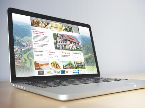Internetseite Gasthaus zur Eiche, Hausach