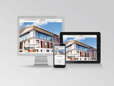 Internetseite Architekturbüro Eitel, Haslach