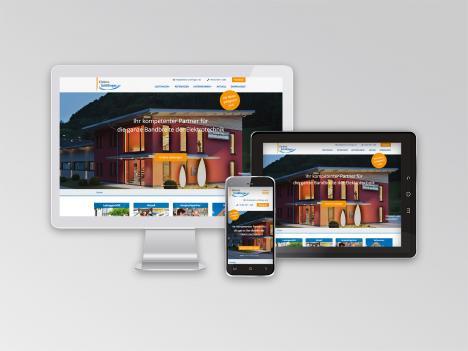 Internetseite Elektro Schillinger, Hausach / Oberwolfach