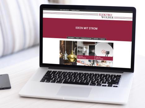 Website Elektro Wolber, Wolfach-Kirnbach