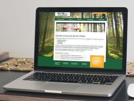 Internetseite FVS eG, Mühlenbach