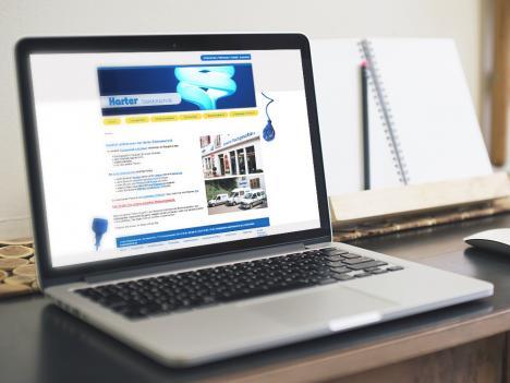 Internetseite Harter Elektrotechnik, Schenkenzell