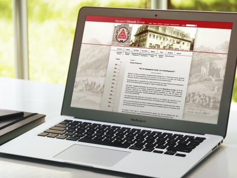 Internetseite Hausach Chronik Online