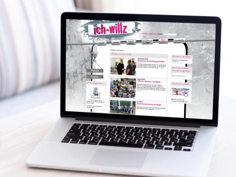 Internetseite ich-willz