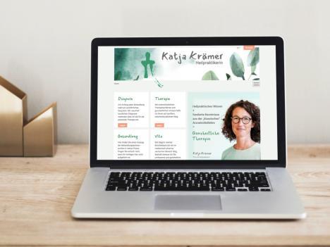 Internetseite Heilpraktikerin Katja Krämer
