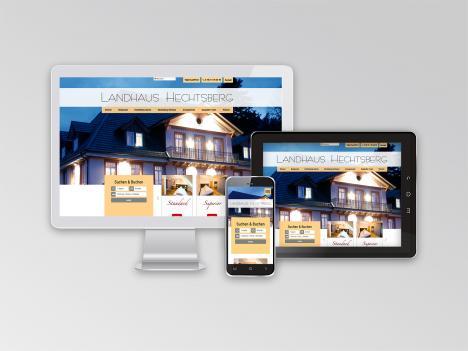 Internetseite Landhaus Hechtsberg, Hausach