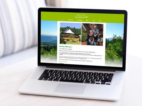 Internetseite Martinhansenhof, Oberwolfach