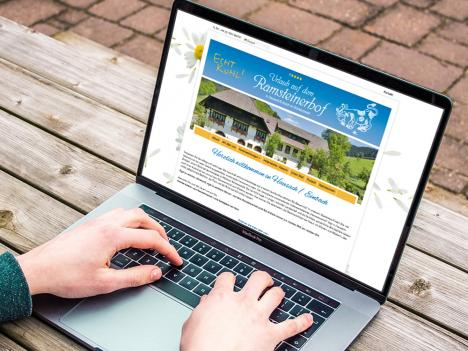 Internetseite Ramsteinerhof, Hausach / Einbach