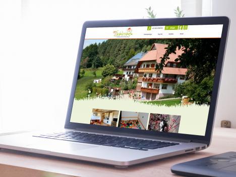 Webdesign Schlosshof, Elzach