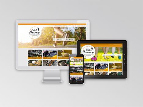Internetseite Schuh-Heinzmann, Gutach