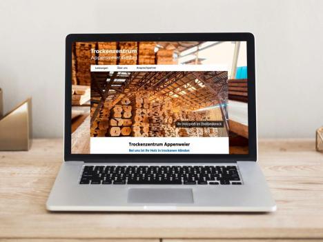 Internetseite Trockenzentrum Appenweier