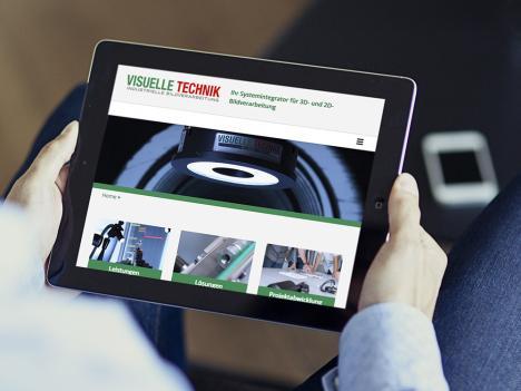 Internetseite Visuelle Technik, Gengenbach