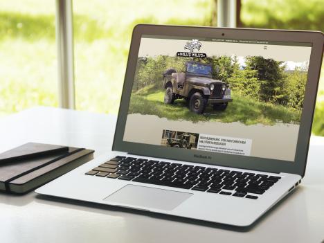 Internetseite KFZ-Werkstatt Willis Willys, Oberharmersbach