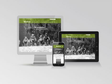 Internetseite Wolftal Mountainbike