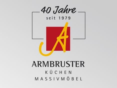 Logoentwicklung Armbruster Möbelstudio Jubiläum