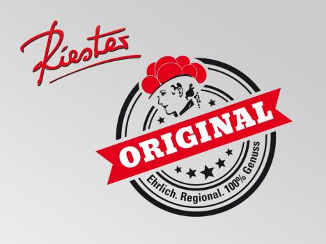 """Logoentwicklung Metzgerei Riester """"Original"""""""