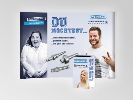 Messestand für Schondelmaier Presswerk, Gutach