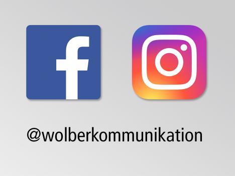 Soziale Medien: Wolber Kommunikation - Jetzt folgen!