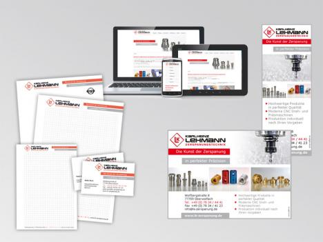 Lehmann Zerspanung - Corporate Design
