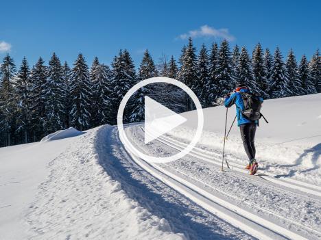 """Videoproduktion """"Langlaufen im Wolftal"""""""