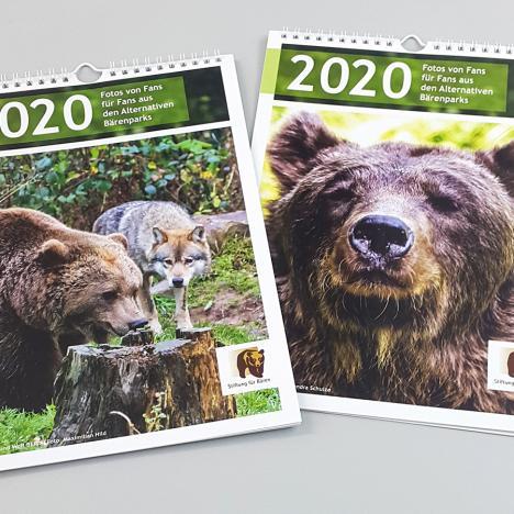 Bärenpark Kalender 2020