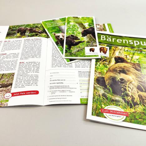 Alternativer Wolf- und Bärenpark: Bärenpark und Parkflyer