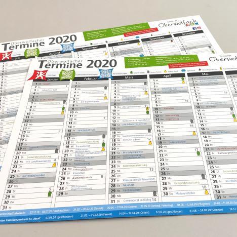 Kalender 2020 Gemeinde Oberwolfach