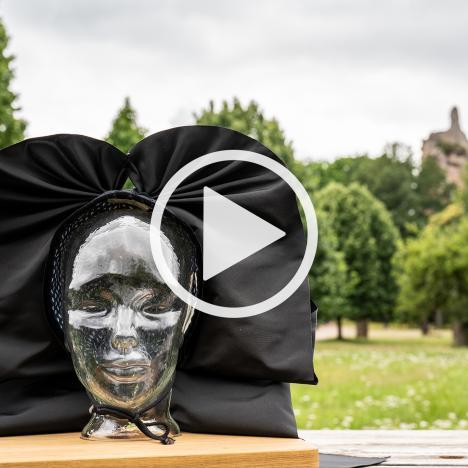 Valérie hinter den Kulissen auf Burg Fleckenstein