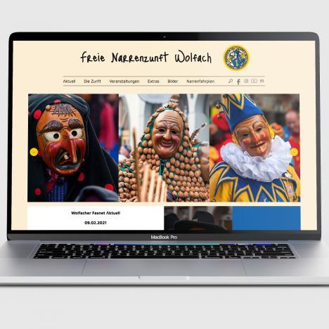 Website Narrenzunft Wolfach