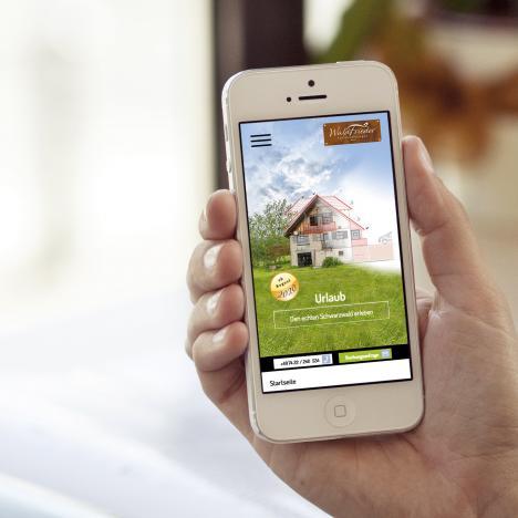 Internet Waldfrieder Smartphone