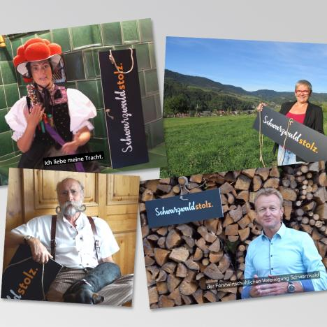 Soziale Medien: Schwarzwaldstolz Kampagne