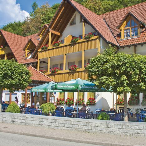Landgasthof Walkenstein, Außenansicht