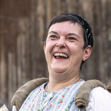 """Michaela Neuberger als """"Zetzel"""""""