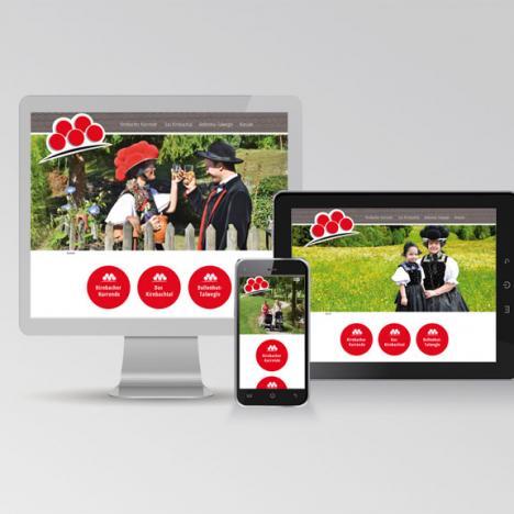 Internetseite Kirnbacher Bollenhut-Talwegle