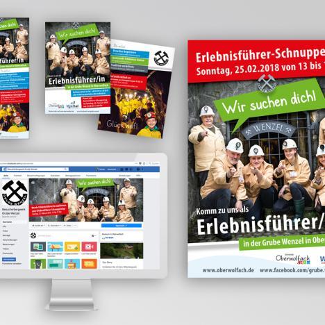 """Werbestrategie: """"Erlebnisführer"""" Grube Wenzel, Oberwolfach"""