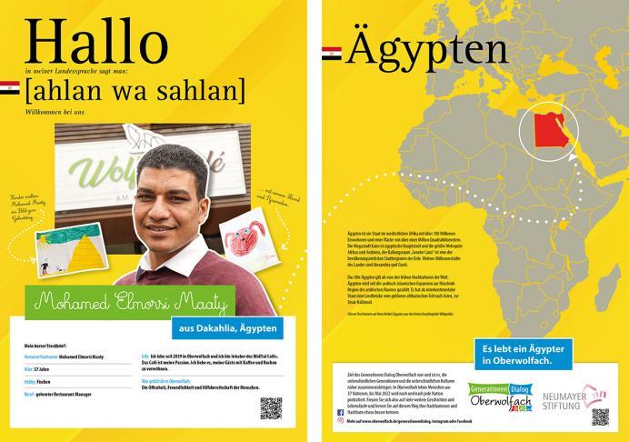 Anzeige Generationen.Dialog.Oberwolfach - Ägypten