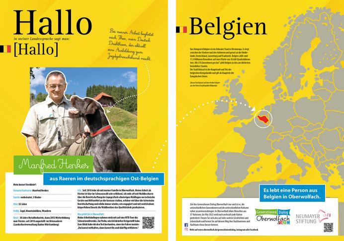 Anzeige Generationen.Dialog.Oberwolfach - Belgien