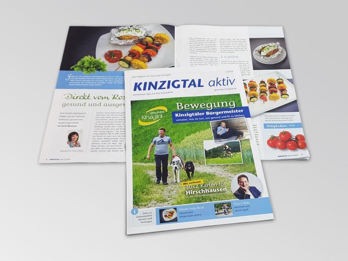 "Druck: Magazin ""Kinzigtal aktiv"" - Sommerausgabe"