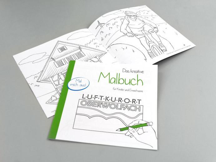 Das kreative Malbuch für Kinder und Erwachsene