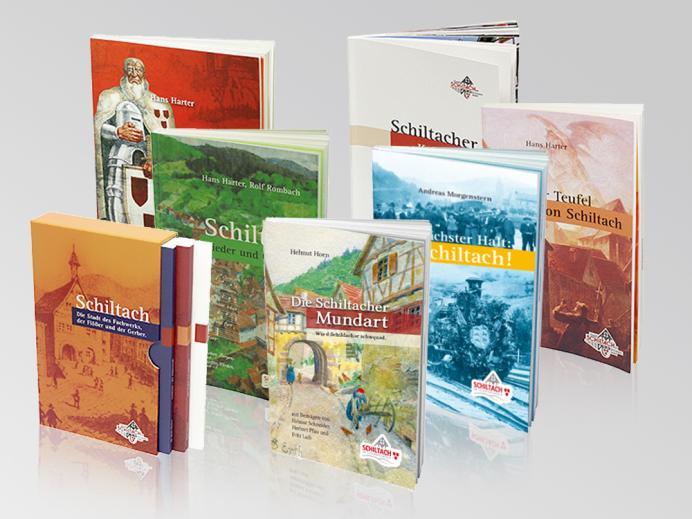 Buchreihe der Stadt Schiltach mit Schuber