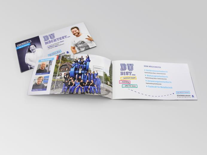 Broschüre für Schondelmaier Presswerk, Gutach