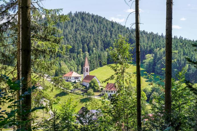 Kirche Wolfach-St Roman