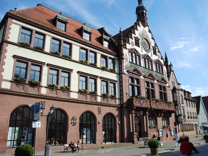 Elektro Schillinger, Referenz Wolfach Rathaus