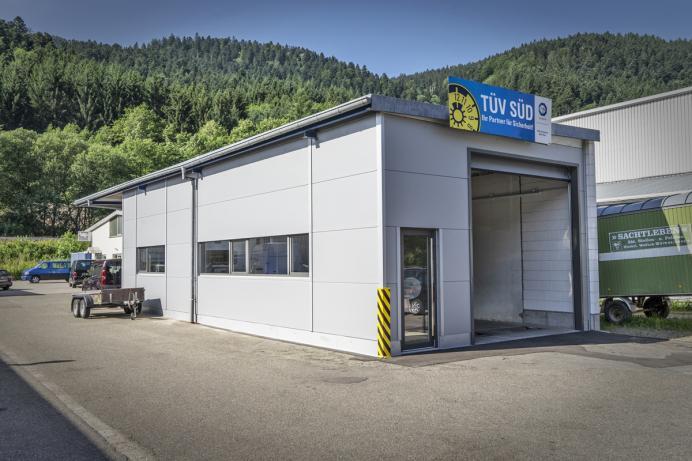 Vollmer Bau, Referenz: Erweiterung Bremsanlage, Wolfach