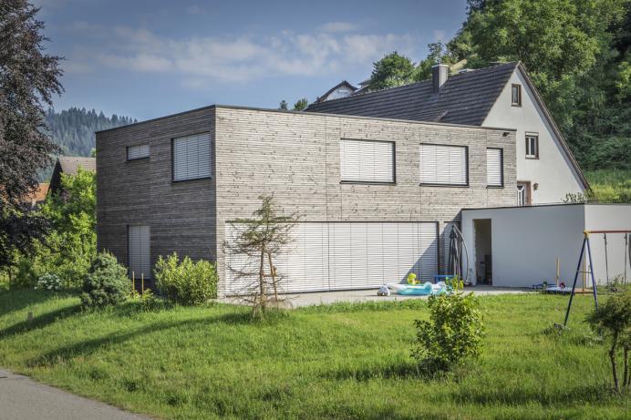 Vollmer Bau, Referenz: Bodenplatte für Holzhaus, Wolfach-Kirnbach