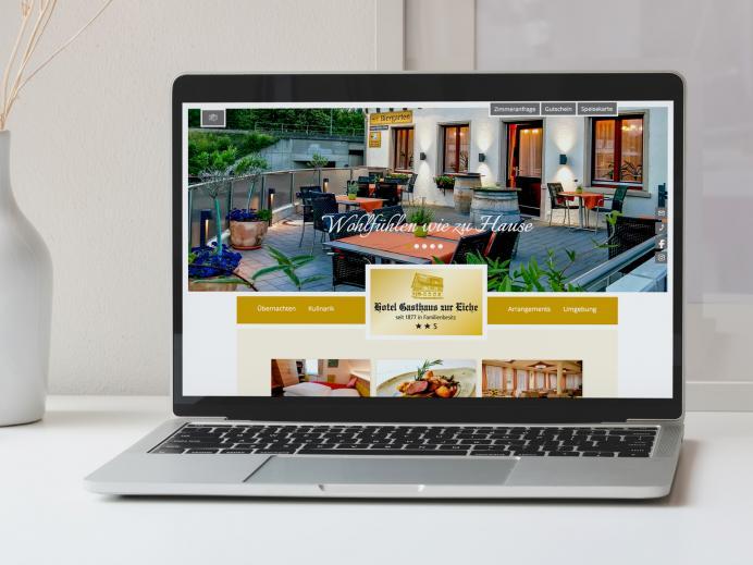 Website Gasthaus Eiche, Hausach